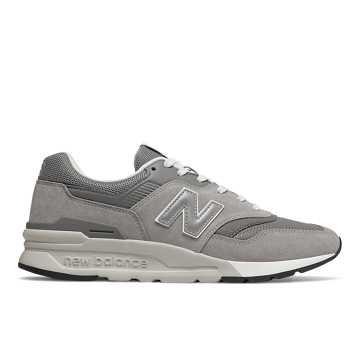 New Balance 997H Classic Pack 经典系列 中性款 轻质舒适 个性时尚, 灰色