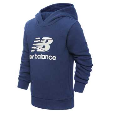 New Balance 儿童连帽休闲卫衣, BL