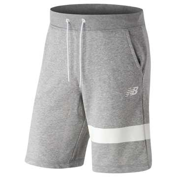 New Balance 男针织短裤, AG