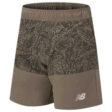 New Balance 运动短裤 男款 时尚印花 舒适贴身, CGN