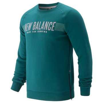New Balance 男款长袖针织套衫, EVG