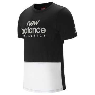 New Balance 针织上衣 男款 舒适面料 运动休闲, BK