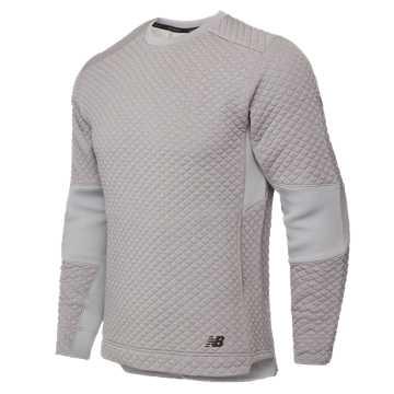 New Balance 针织上衣 男款 针织面料 舒适保暖, AG