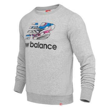 New Balance 997印花卫衣 男款 时尚有型 经典百搭, AG