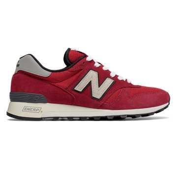 New Balance 1300系列复古鞋 男款 舒适稳定 美国原产, 红色
