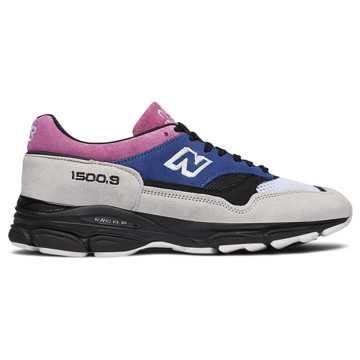 New Balance 1500系列复古鞋 男款 避震稳定 时尚复古, 玫色/蓝紫/白色