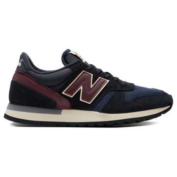 New Balance 男运动鞋, 黑色/蓝色