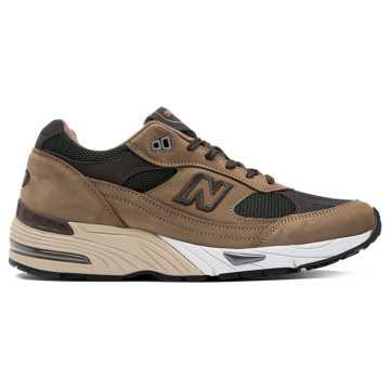 New Balance 男运动鞋, 驼色/绿色