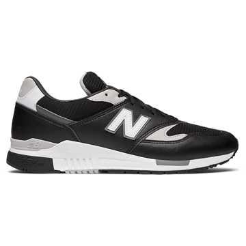 New Balance 840复古鞋 中性款 轻量舒适 经典休闲, 黑色