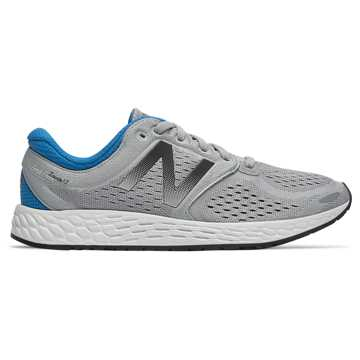 New Balance Fresh Foam Zante v3 Breathe 男鞋 缓震保护, 灰色(蓝色)