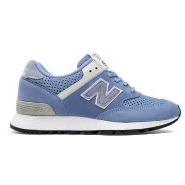 New Balance 576复古鞋 女款 避震保护 英国原产, 淡蓝色