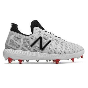 New Balance COMPv1, White with Black & Red