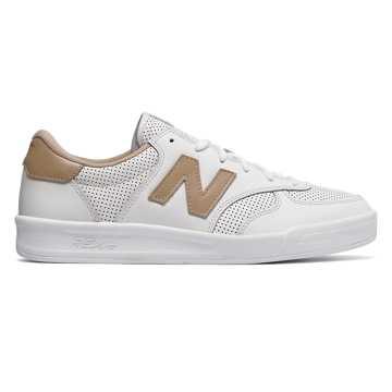New Balance CRT300复古鞋 中性款 轻量中底 经典配色, 白色