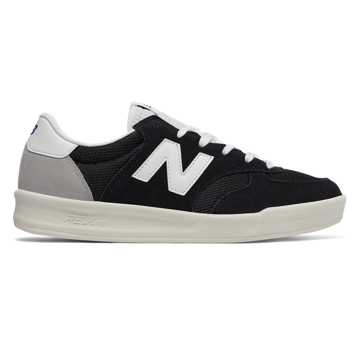 New Balance CRT300复古鞋 中性款 轻量中底 经典配色, 黑色