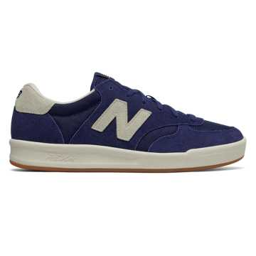 New Balance Suede 300, Moroccan Blue with Sea Salt