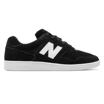 New Balance 288 Suede, Black with White