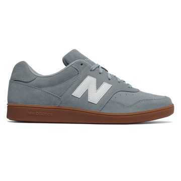 New Balance Split Suede 288, Grey Blue with White