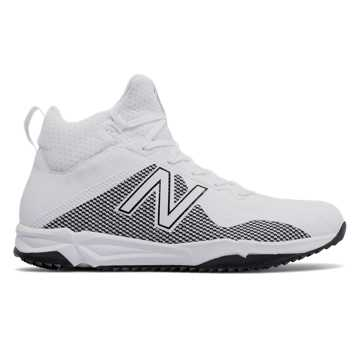 New Balance FreezeLX Turf, White with Silver