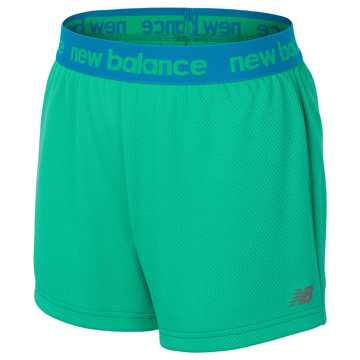 New Balance Core Performance Short, Jade Green