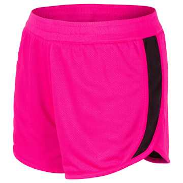 New Balance Reversible Fashion Short, Alpha Pink with Black