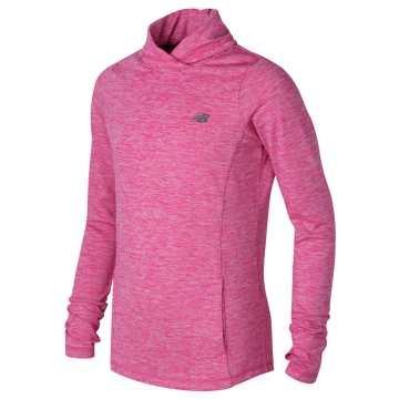 New Balance Cross Neck Pullover, Poisonberry