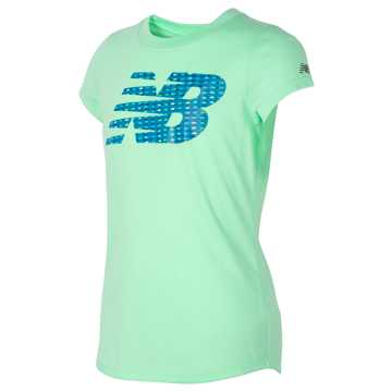 New Balance Short Sleeve Graphic T-Shirt, Agave