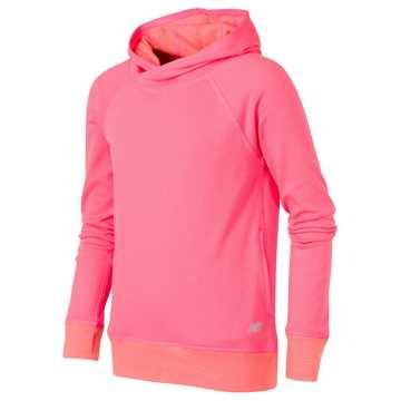 New Balance Hooded Pullover, Vivid Tangerine