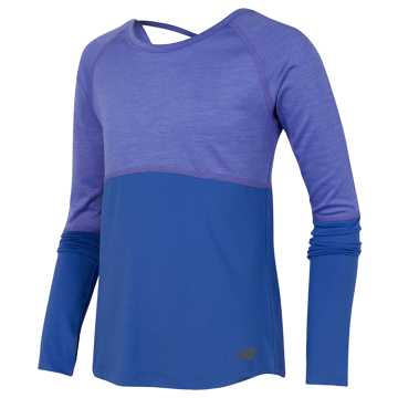 New Balance Long Sleeve Performance Top, Twilight