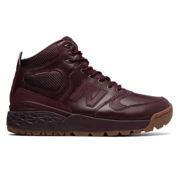 New Balance Fresh Foam Paradox Leather, Chocolate Cherry