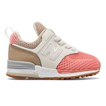 New Balance 574 Sport, Hemp with Dusted Peach