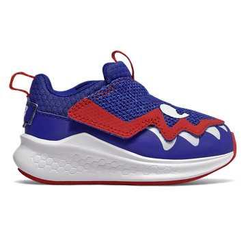 New Balance 飞机鞋系列儿童休闲运动鞋 保暖透气 可爱童趣, 皇家蓝