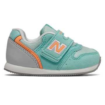 New Balance 996系列儿童休闲运动鞋 脚感舒适 稳固耐磨, 薄荷绿