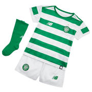 NB Celtic FC Home Infant Kit - Set, White with Celtic Green