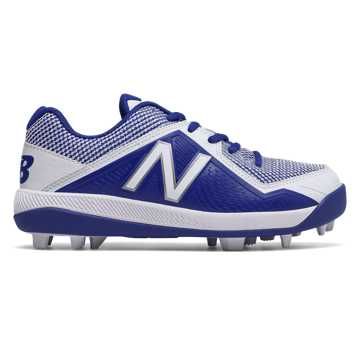 New Balance Junior 4040v4 Rubber Molded, Royal Blue with White