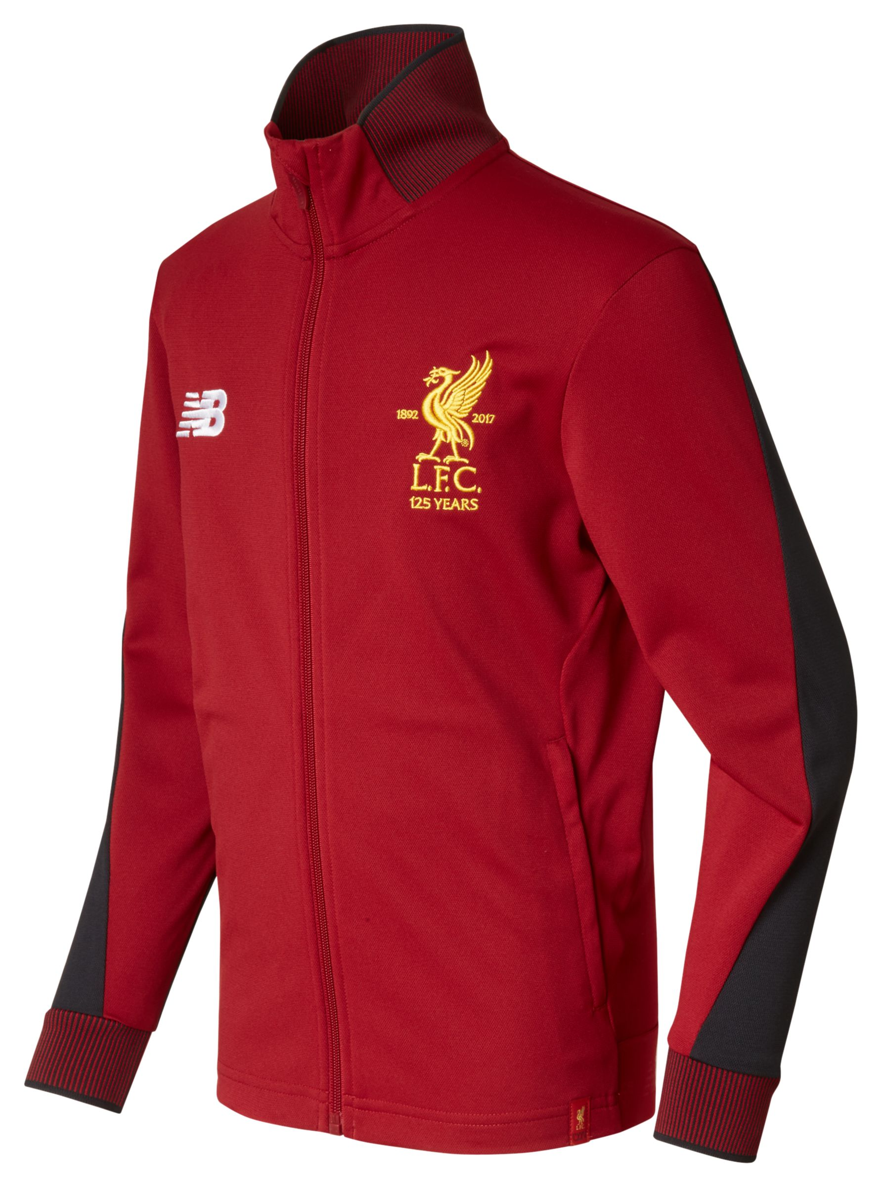 NB LFC Elite Training Junior Presentation Jacket, Red Pepper