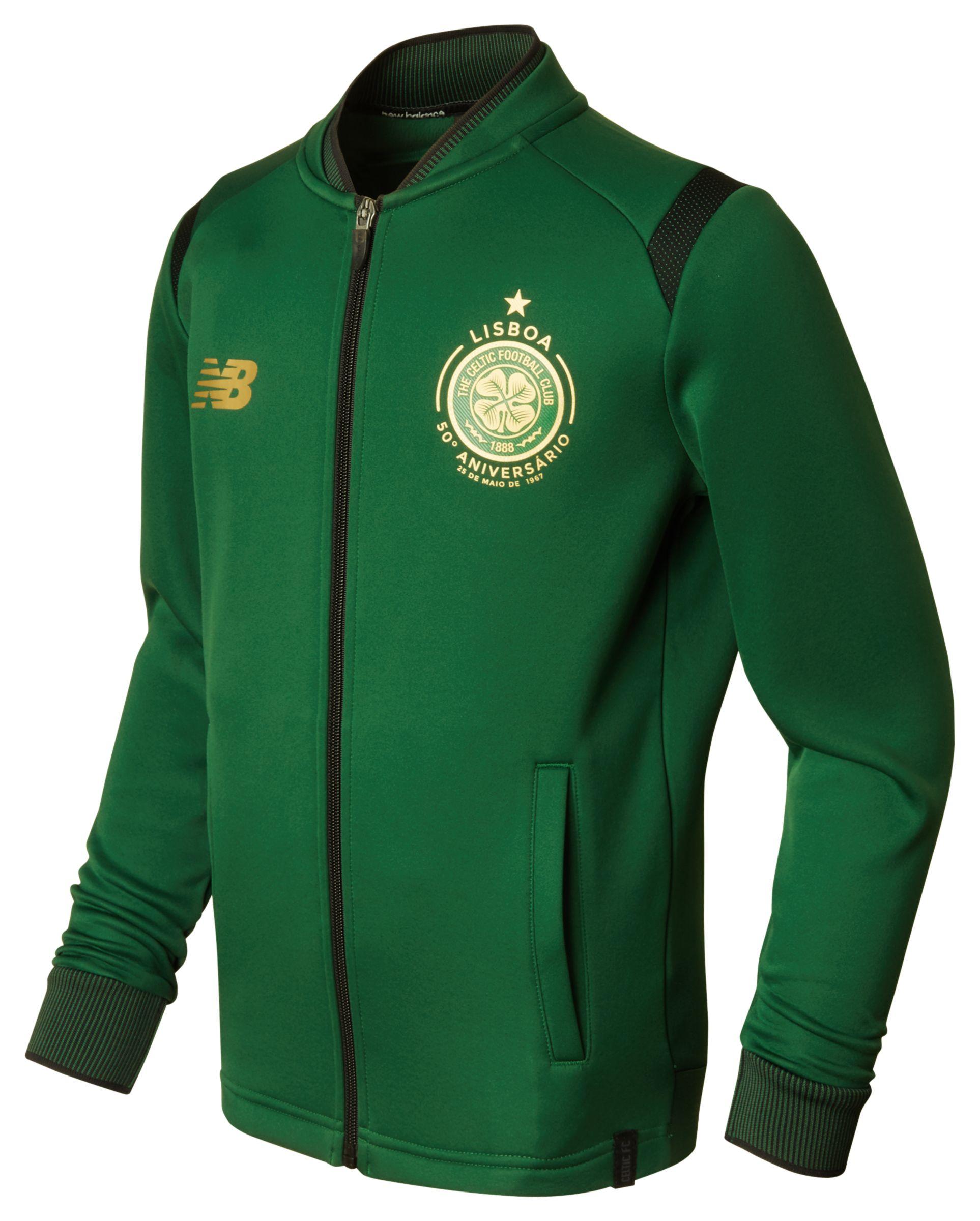 NB CFC Elite Training Junior Walk Out Jacket, Eden