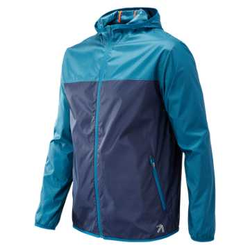 New Balance J.Crew Windcheater Colorblock Jacket, Castaway Multi