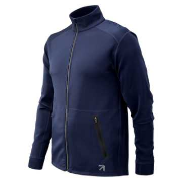 New Balance J.Crew 247 Track Jacket, Navy