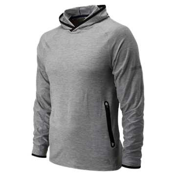 New Balance J.Crew N Transit Hoodie, Athletic Grey