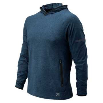 New Balance J.Crew N Transit Hoodie, Pigment Heather