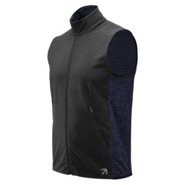 New Balance J.Crew Precision Heat Vest, Black