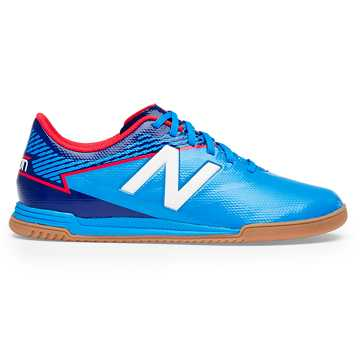 New Balance Junior Furon 3.0 Dispatch IN, Bolt with Royal Blue & Energy Red