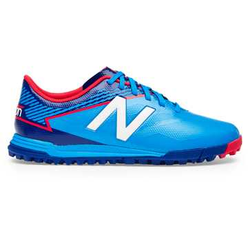 New Balance Junior Furon 3.0 Dispatch TF, Bolt with Royal Blue & Energy Red