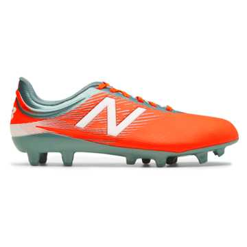 New Balance Junior Furon 2.0 Dispatch FG, Alpha Orange with Tornado