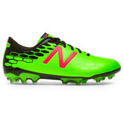 NB Junior Visaro 2.0 Control AG, Energy Lime with Military Dark Triumph & Alpha Pink