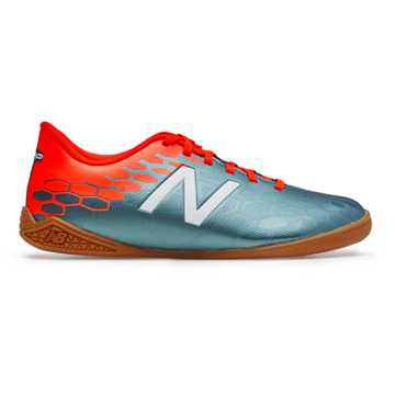 New Balance Junior Visaro 2.0 Control IN, Tornado with Alpha Orange