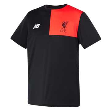 New Balance LFC Jr Elite Training SS Jersey, Black
