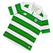 New Balance Celtic Jr Home SS Jersey, White