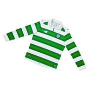 NB Celtic Jr Home LS Jersey, White