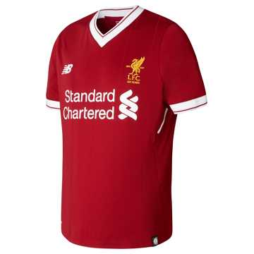 New Balance LFC Home Junior SS Jersey, Red Pepper